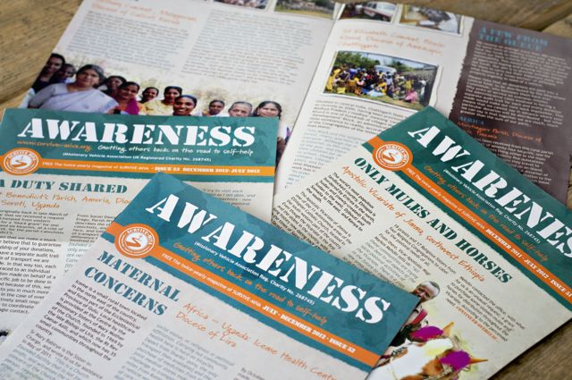 Awareness 8 page A4 Newsletter