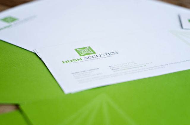 Hush stationery