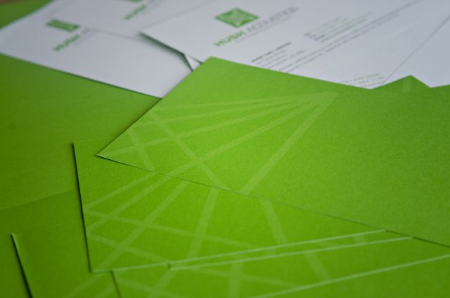 Hush Stationery design and print